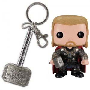 Pack Thor : Porte-clé + figurine Pop!