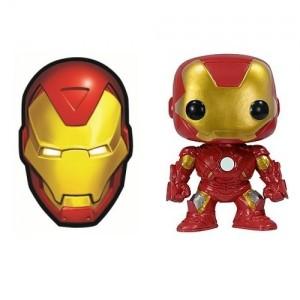 Pack Iron Man : Aimant + figurine Pop!