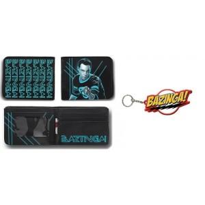 Pack bazinga : portefeuille + porte-clé