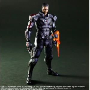 Figurine Commandant Shepard de Mass Effect 3 Play Arts Kai