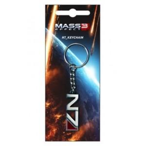 Porte-clé Mass Effect 3 Logo N7