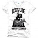 Darth vader t-shirt : Come To The Dark Side White