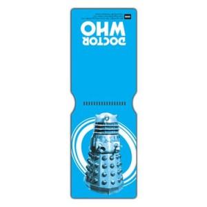 Étui pour carte de transport/CB Doctor Who, Dalek Pop Art Blue