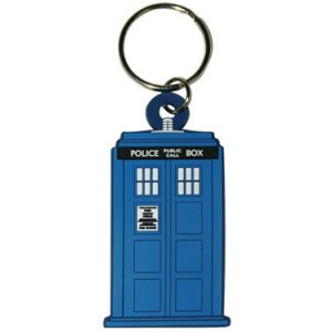 Rubber Acrylic Tardis - Doctor Who