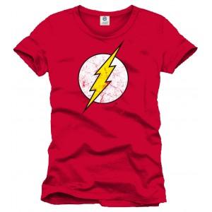 T-Shirt Flash logo rouge