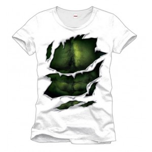 T-Shirt Hulk costume