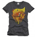 The Flash running anthracite t-shirt