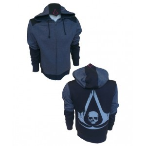Sweater à capuche Assassin´s Creed IV : Logo Black Flag