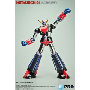 Figurine Goldorak Metaltech Chrome 01' 17cm