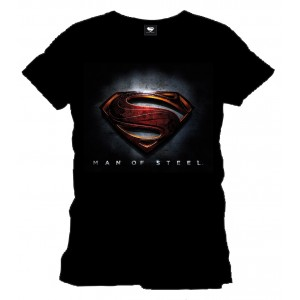 T-Shirt Man Of Steel Logo