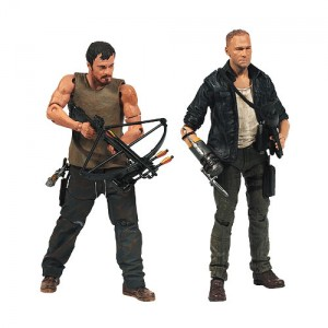 Figurines Daryl et Merle Dixon de The Walking Dead