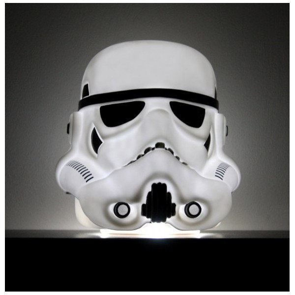 lampe d 39 ambiance stormtrooper 25cm. Black Bedroom Furniture Sets. Home Design Ideas