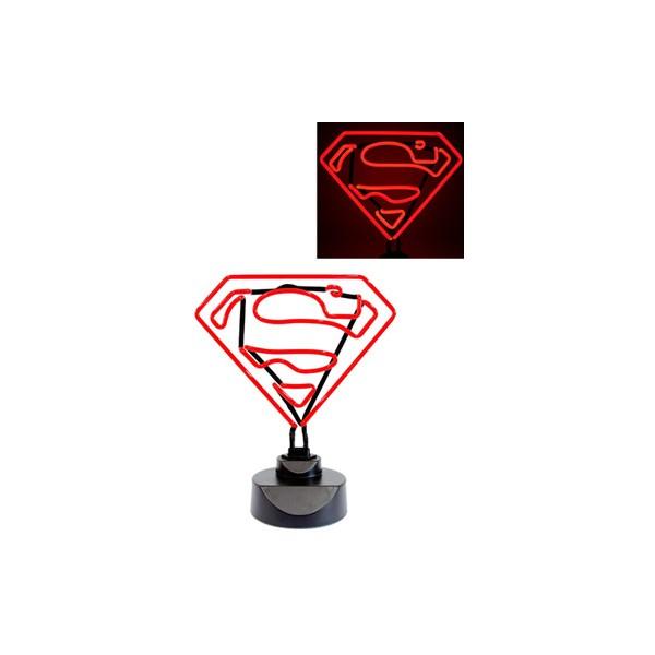 lampe n on superman 23x30cm. Black Bedroom Furniture Sets. Home Design Ideas