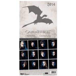 Calendrier 2014 Game Of Thrones Anglais/Espagnol