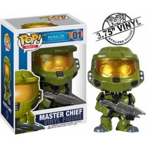Figurine Master Chiel de Halo collection Pop! Vinyl