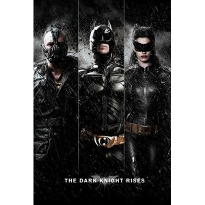 Poster The Dark Knight Rises : Trio