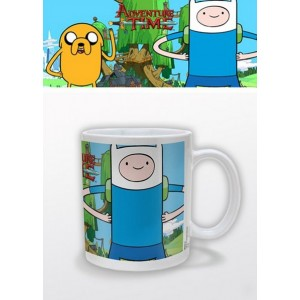 Mug Jake et Finn d'Adventure Time