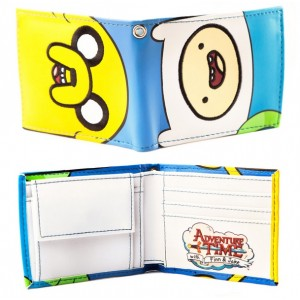 Porte-monnaie Jake & Finn d'Adventure Time