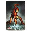 Comics Steel Covers Metal Plate Iron Man 17 x 26 cm - Marvel