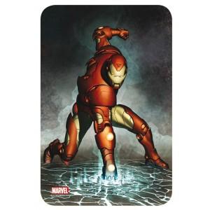 Panneau métal décoratif Iron Man 17x26 cm
