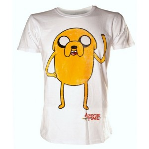 T-shirt blanc Jake - Adventure Time