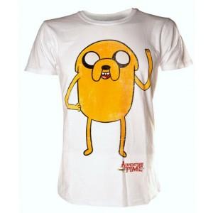 T-shirt blanc Jake - Adventure Time
