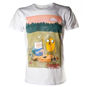 T-shirt Finn & Jake - Adventure Time