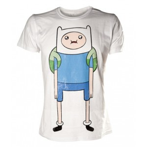 T-shirt blanc Finn - Adventure Time