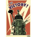 Poster Doctor Who : Dalek To Victory