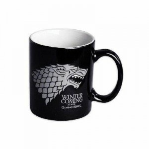 House Stark black mug from Game of Thrones