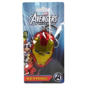 Porte-clé métal Iron Man