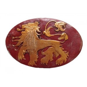 Réplique de l'insigne des Lannister de Game Of Thrones 1/1