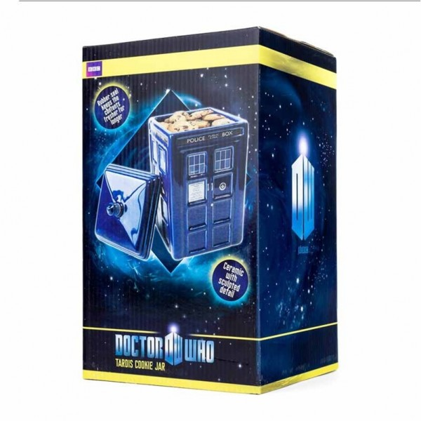 Tardis ceramic cookie jar from doctor who - Tardis ceramic cookie jar ...