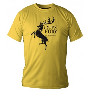 T-shirt Baratheon jaune - Game Of Thrones