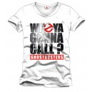 Ghostbusters T-Shirt Who ya Gonna Call | Movie merchandise