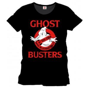T-Shirt Ghostbusters Logo noir