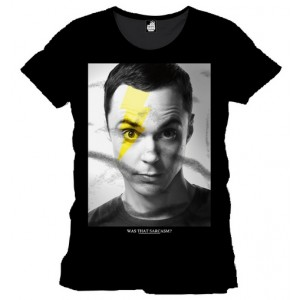 T-shirt Sheldon Cooper : Bolt