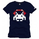 T-Shirt Space Invaders Ecouteurs