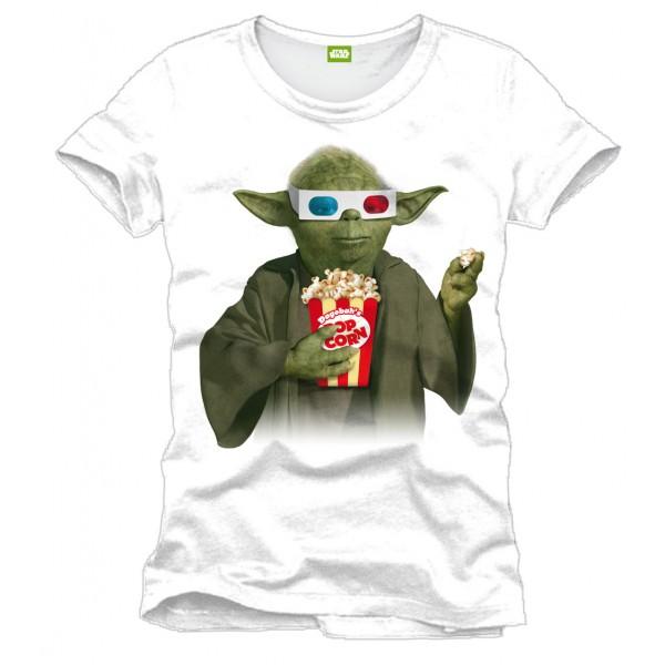 yoda t shirt eating pop corn watching star wars forom47 com