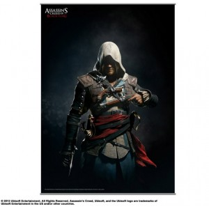 Bannière Assassin's Creed IV Black Flag 105x77cm Vol. 2