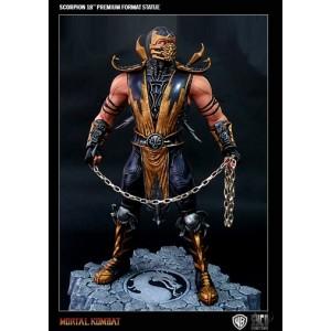 Statuette Scorpion 50cm de Mortal Kombat