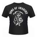 T-Shirt Sons of Anarchy patch