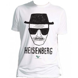 T-shirt Heisenberg blanc - Breaking Bad