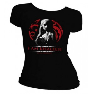 T-shirt I Am Khaleesi femme - Daenerys Targaryen