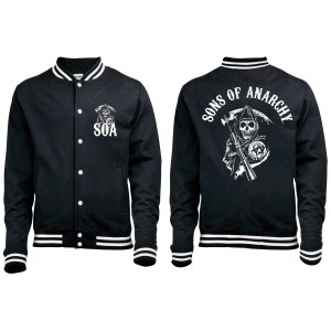 Veste baseball Sons of Anarchy