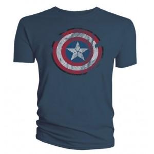 T-shirt bouclier Captain America