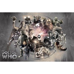 Poster Doctor Who Enemies