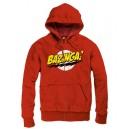 Sweater à capuche Bazinga rouge - The Big Bang Theory