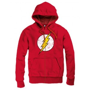 Sweater à capuche : The Flash