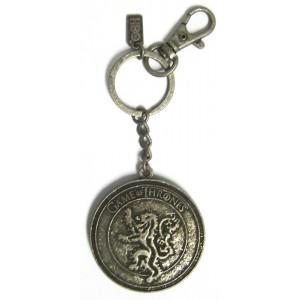 Porte-clé métal Maison Baratheon